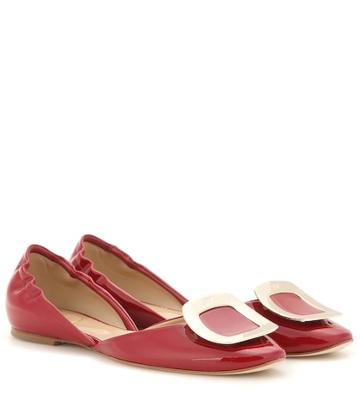 Valentino Garavani Chips Patent Leather Ballerinas
