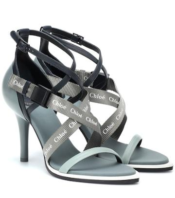 Chlo Veronica Leather Sandals