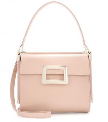 roger Vivier miss Viv Leather Shoulder Bag