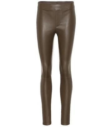 Ag Jeans Leather Leggings