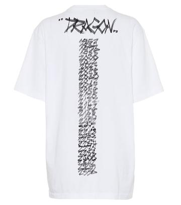 Vetements Year Of The Dragon Cotton T-shirt