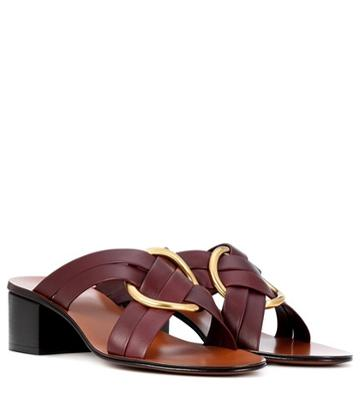 Chlo Rony Leather Sandals
