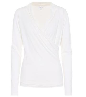 A.p.c. Meri Stretch Cotton Top