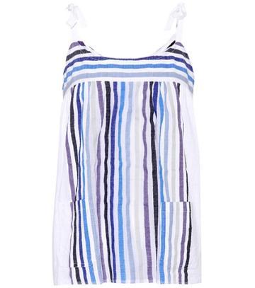 Gianvito Rossi Striped Cotton Top