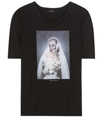 Gianvito Rossi Printed Cotton T-shirt