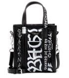 Balenciaga Graffiti Bazar Xxs Leather Shopper