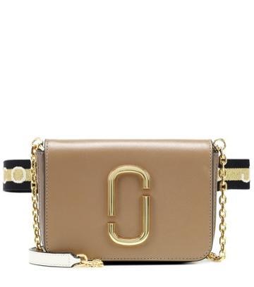 Stella Mccartney Hip Shot Leather Belt Bag