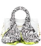 Balenciaga Classic City Scarf Nano Leather Tote