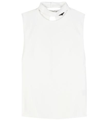 Tom Ford Cut-out Crepe Top