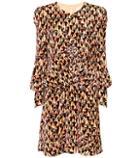 Chlo Printed Velvet Dress