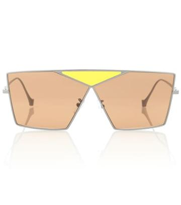 7 For All Mankind Square Metal Sunglasses