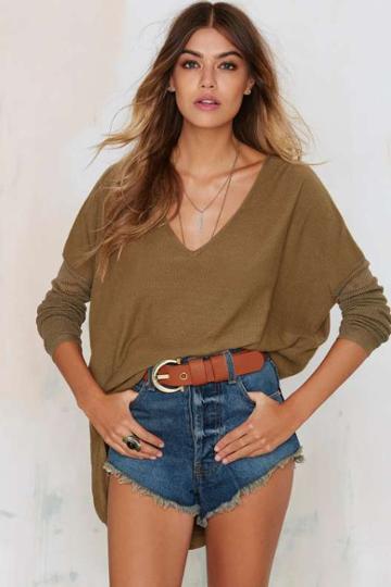 Glamorous Piper Asymmetric Sweater
