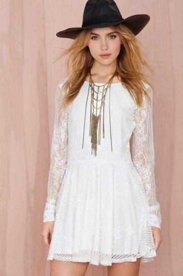 For Love & Lemons For Love And Lemons Lola Lace Dress