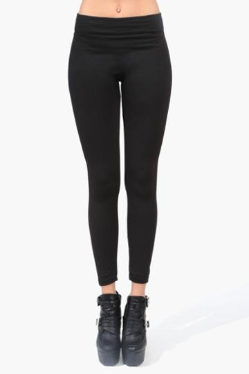 Necessary Clothing - Cozy Fleece Legging - Black