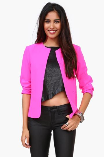Necessary Clothing - Circus Blazer - Pink