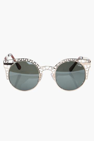 Necessary Clothing - Fleur Quay Sunglasses - Gold