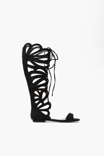 Necessary Clothing - Butterfly Gladiator Sandal - Black