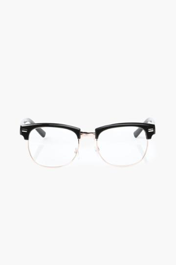 Necessary Clothing - Geek Chic Glasses - Black