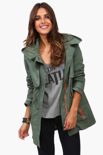 Necessary Clothing - Oliver Combat Jacket - Olive