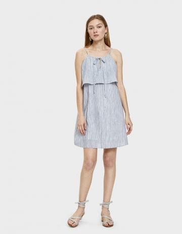 Farrow Ebba Keyhole Dress