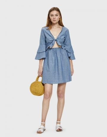 Farrow Aasma Cutout Dress