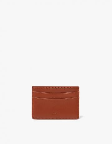 A.p.c. Andre Cardholder In Whiskey