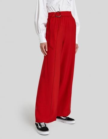 Farrow Geo Pants In Red