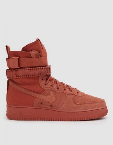 Nike Sf Air Force 1 Shoe In Dusty Peach/dusty Peach