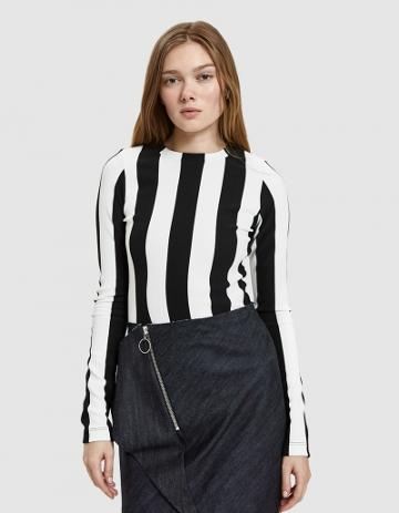 Goldsign Wide Stripe Bodysuit