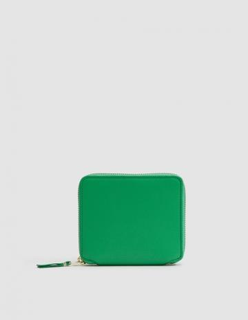 Comme Des Gar Ons Wallet Classic Leather Line Sa2100 Wallet In Green