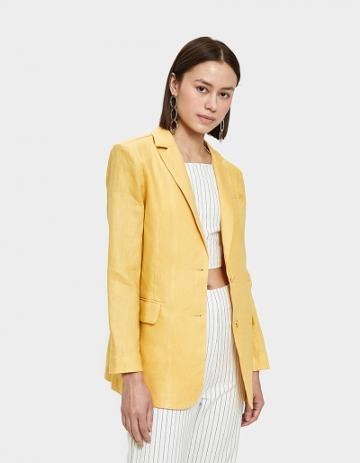 Farrow Lili Blazer In Yellow