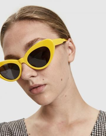 Chimi Eyewear Tiger Round Yellow