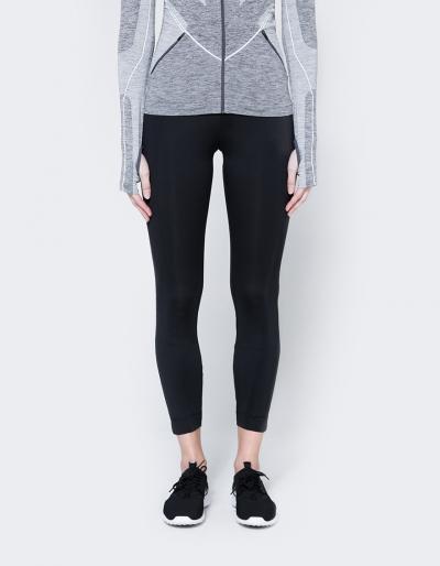 Nike Bonded Leggings In Black