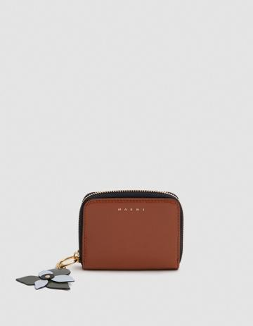 Marni Wallet In Rock/jade