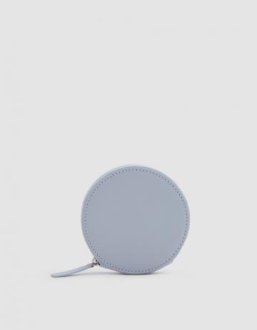 Baggu Circle Wallet In Powder Blue
