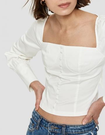 Farrow Chia Blouse In White