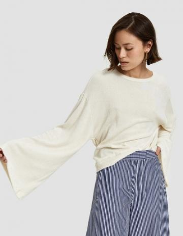 Farrow Cannes Sweater In Cream