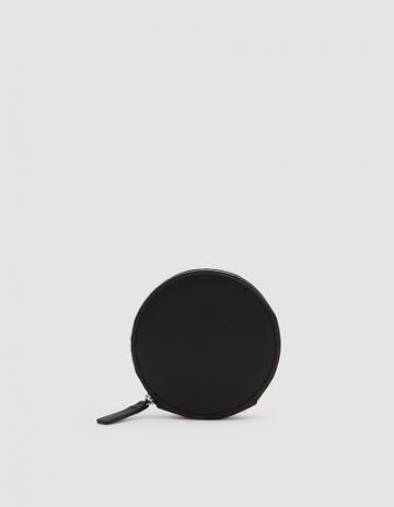Baggu Circle Wallet In Black