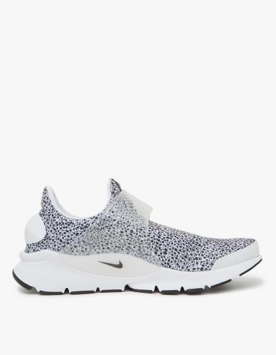 Nike Nike Sock Dart Qs Shoe In White/black