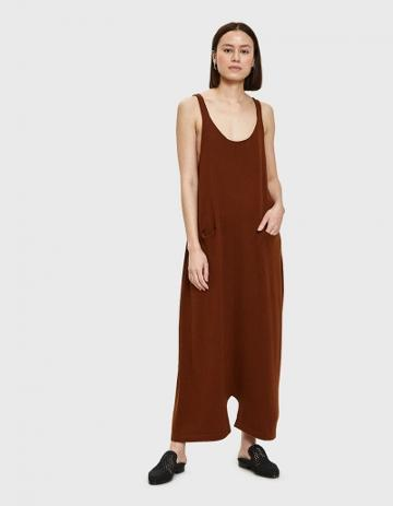 Lauren Manoogian Playa Jumpsuit In Terra