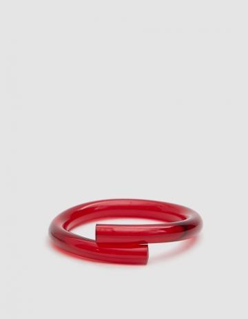 Corey Moranis Rod Bracelet B In Ruby Red