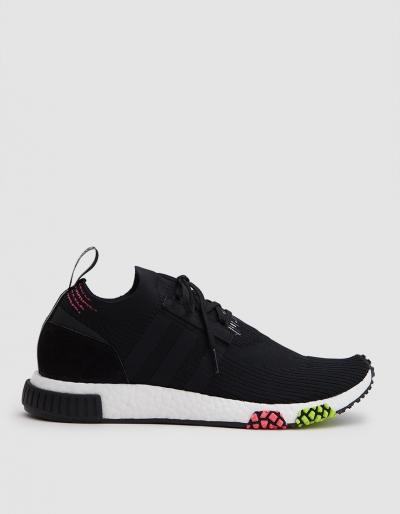 Adidas Nmd_racer Primeknit Sneaker In Black