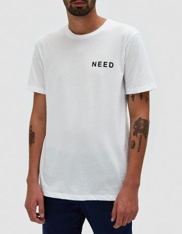 Need Need T In White/black