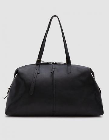 Dries Van Noten Large Weekender Bag In Black