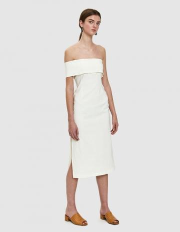 Paloma Wool Donna Dress In White