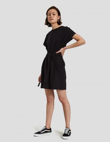 Farrow Canell Tie Dress In Black