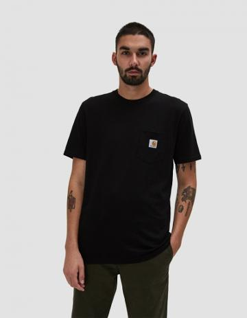 Carhartt Wip S/s Pocket T-shirt In Black