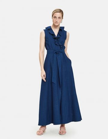 A.p.c. Ingrid Wrap Dress