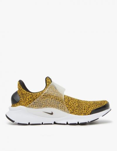 Nike Nike Sock Dart Qs Shoe In University Gold