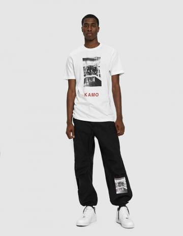Kamo International Kamo Cargo Pants In Black